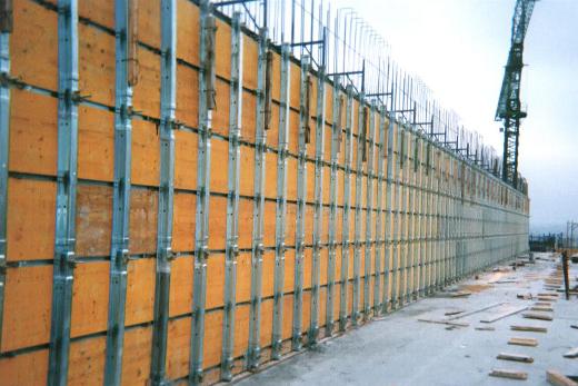 Legnotre industriale formwork systems pannelli per for Pannelli divisori ufficio economici